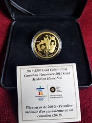 2010 Canada 22-karat Gold Coin Andndash First Olympic Gold Medal On Home Soil