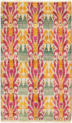 Hand-knotted 4and0399 X 8and0391 Shalimar Casual Contemporary Wool Rug