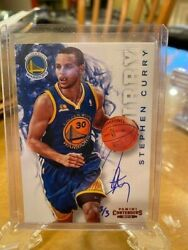2015-16 Panini Replay 2012-13 Contenders Hand Auto Stephen Curry 3/3