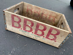 Extremely Rare Vintage 1941 Beverwyck Breweries Beer Wood Soda Crate Albany Ny