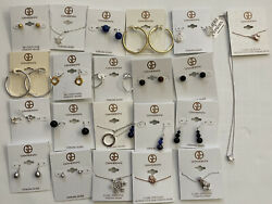 Giani Bernini Wholesale Lot Of 22 Pieces, Earrings, Studs, Necklaces, 1341 Msrp