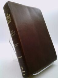 Topical Chain Study Bible New American Standard, Burgundy Bonded Leather 964br