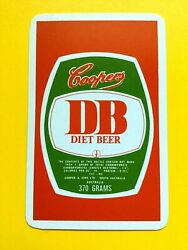 Cooper And Sons Australia Coopers Diet Beer Db Green Barrel Logo Swap Playing Card