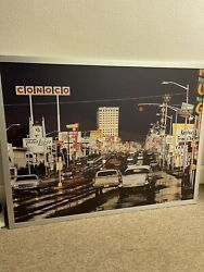 Ernst Haas Route 66 Albuquerque New Mexico 1969 Picture Canvas 46x35 Inches