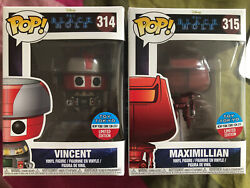 Funko Pop The Black Hole Vincent And Maxmillian Bundle Toy Tokyo Nycc 2017 Excl