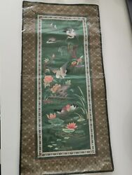 1950s Chinese 100% silk work #29 Home clearance