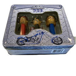 Pez Orange County Choppers 2006 Limited Edition Collector's Tin Gift Set New