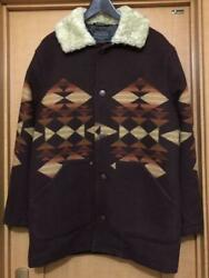 Pendleton Authentic Brownsville Shearling Collar Coat Size S Used From Japan