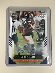 2021 Score Football Jerry Jeudy Auto Denver Broncos