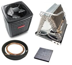 Goodman Gsx13 13 Seer Central Air Conditioning Packages A-coil Lineset Pad