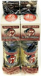 4 Boxes Of Scent Daddy Cherry Crush Concentrated Air Freshener 1 Fl Oz New