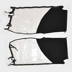 Parker Boat Side Wing Curtains 166502   25 / 28 T-top Ameritex 2 Pc