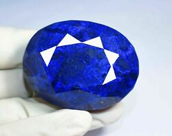 New Year Sale 477.45 Ct Natural Huge Blue Sapphire Certified Quality Loose Gem