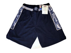 Authentic Mitchell And Ness Georgetown Hoyas Basketball Shorts M Iverson 1995-96
