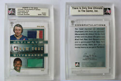 2008-09 Itg Ultimate Pele 1/1 Cityscapes Gold Jersey 1 Of 1 New York Cosmos Mls