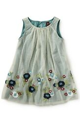 Tea Collection 'romantica Roma' Sleeveless Embroidered Tulle Dress 3t Toddler