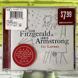 Ella amp; Louis For Lovers Ella Fitzgerald Louis Armstrong Audio CD New Sealed $9.99