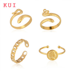Ring For Women Snake Ring Womenand039s Stainless Steel Statement Punk Rings Open Fing