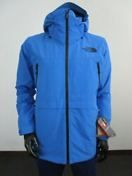 Nwt Mens The Lostrail Insulated Waterproof Hooded Ski Jacket - Blue