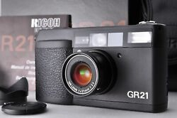 [near Mint+++ In Box] Ricoh Gr21 Point And Shoot 21mm Wide Angle Lens From Japan