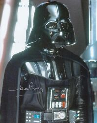 Dave Prowse 10x8 Signed In Silver