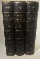 Robert Tomes / War With The South History Of The Rebellion With Biographical 1st