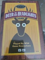 Brand New Front Porch Classics Deer In The Headlights Game University Games