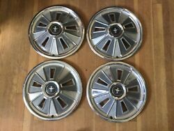 Set Of Four 1966 Mustang Hubcaps
