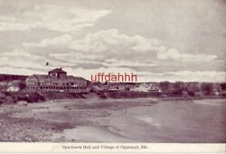 Sparhawk Hall And Village Of Ogunquit Me Frank W. Swallow Post Card Co.