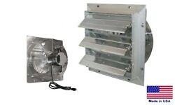 Exhaust Fan Industrial - Direct Drive - 10 - 115v - 1 Ph - 3 Speed - 630 Cfm
