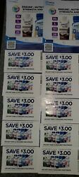 Ensure 3 Coupons Off Any 1 Multipack Lot Of 10 Expire Dec 2021