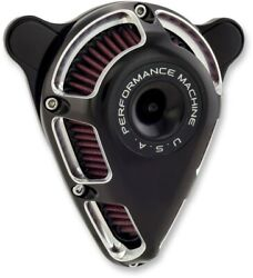 Performance Machine Jet Air Cleaner Contrast Cut Harley Milwaukee Eight 17-up