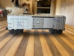 Post War Lionel Western Pacific 6464-1wp Boxcar Original 1950's Not Remake 🔥
