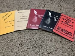 """🔥 Collection Of Eugene Burger """"out Of Print"""" Booklets/magic Books"""