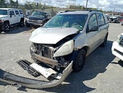 Driver Left Front Door Glass Without Privacy Tint Fits 04-10 Sienna 7927674