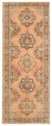 Hand-knotted Turkish Carpet 4and0399 X 12and0394 Anadol Vintage Traditional Wool Rug