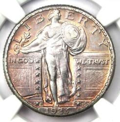 1923-s Standing Liberty Quarter 25c Coin - Certified Ngc Au Details - Rare Date