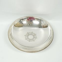 And Co. 18650a Makers 2280 Sterling Silver 925-1000 M Platter Bowl