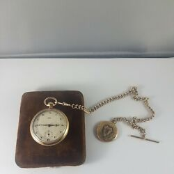 Eaton 1/4 Century Club Made By Rolex Pocket Watch Nice Rare Collector Watch