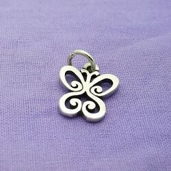 James Avery Sterling Silver .925 Butterfly Scroll Charm 1.2g 1/2
