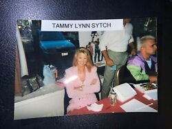 Tammy Sytch - Sunny - Wwe Rare Candid 4x6 Photo W/ Chris Candito By Side