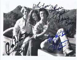 Catherine Bach, John Schneider And Tom Wopat- Signed Photograph