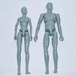 Sideshow Collectables Grey Man And Woman 12 Inch Figures Sideshow Toys 2000