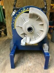 Current/greenlee Mod 77 Condit Bender With 1.5 / 2 Ridgid Shoe And Roller