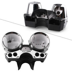 For Yamaha Xjr1300 98-03 Speedometer Tachometer Gauges Housing Case Cover Tu New