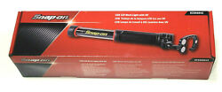 New Snap On ™ 400 Lumen Led Rechargeable Shop Work + Uv Light Magnetic Base Red
