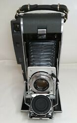 Vintage Polaroid Camera Model 120 With Case And Accessories.excellent Condition.