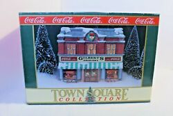 Coca Cola Town Square Collection Gilbert's Grocery 1992 Christmas Village