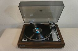 Fisher Mt6020 Synchro Belt Drive Turntable-bench Checkedservicedcleanedtested