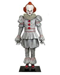 It Statue Pennywise Life Size 70 7/8in Dimensions Real In Foam And Latex Neca Ch 2